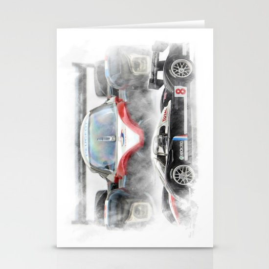 Peugeot 908 Stationery Cards