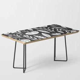 Blooming Field - black Coffee Table