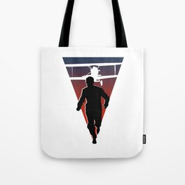 North By Northwest: Alfred Hitchcock + Cary Grant + plane = film classic Tote Bag