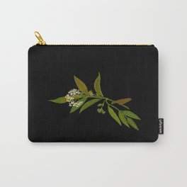 Sambucus Ebulus Paper Flower Collage Vintage Botanical Floral Art Mary Delany Carry-All Pouch