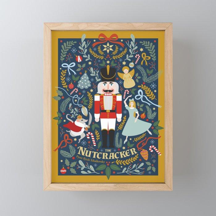 The Nutcracker Framed Mini Art Print