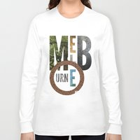 melbourne Long Sleeve T-shirts featuring Melbourne by Virbia
