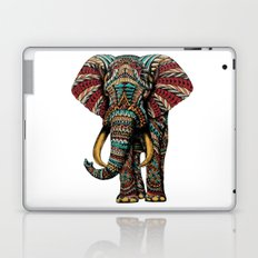 Ornate Elephant (Color Version) Laptop & iPad Skin