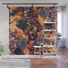 Vintage Fruit Pattern VI Wall Mural