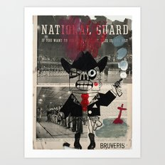 national guard Art Print