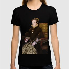 Mary Tudor - historical illustrations T-shirt