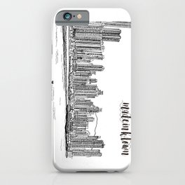 Travel in Hong Kong Kennedy Town iPhone Case