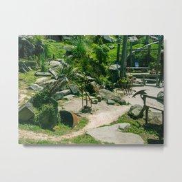 Random Rock Garden Metal Print