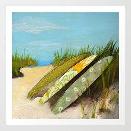 Sea Dunes Art Print