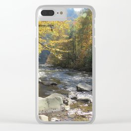Autumn on the Little Rover Clear iPhone Case