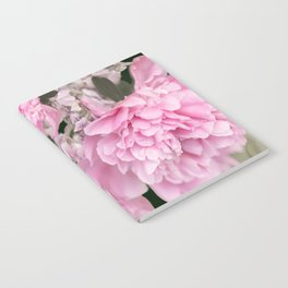 Pink Bouquet On A Black Background  #society6 #buyart Notebook