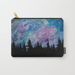 Galaxies and Trees Carry-All Pouch