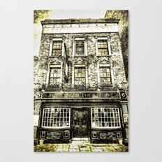 Prospect of  Whitby Pub London 1520 Vintage Canvas Print