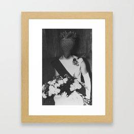 Queen Strawberry. 1962. Framed Art Print