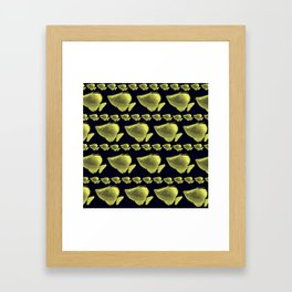 FluoFish Framed Art Print