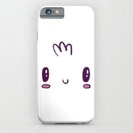 Axolotl face iPhone Case