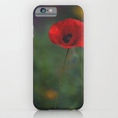 Red Poppy Slim Case iPhone 6s