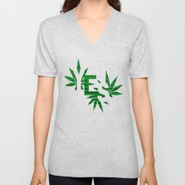Yes to Cannabis Legalization Unisex V-Neck