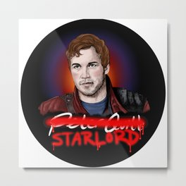 Peter Quill - StarLord Metal Print