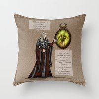 fairy tale Throw Pillows featuring Fairy Tale by wolfanita