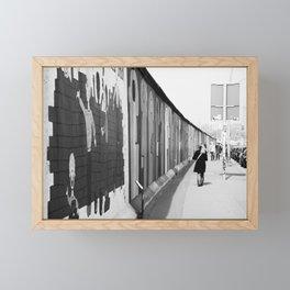 Berlin Wall Framed Mini Art Print