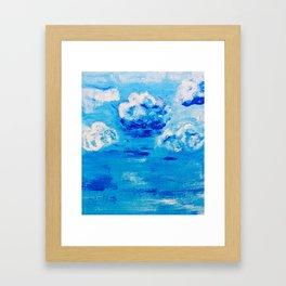 Blue skies  in Florida #1 Framed Art Print