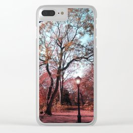 Walk with Me Clear iPhone Case