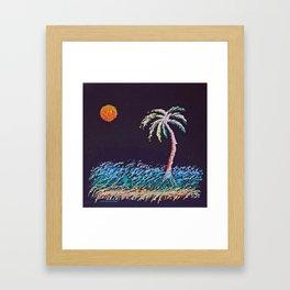 """Ghost Palms of Kauai #8"" Painting Framed Art Print"
