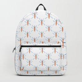 AB039-5 Cute Bugs Pattern Backpack