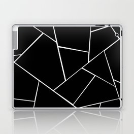 Black White Geometric Glam #2 #geo #decor #art #society6 Laptop & iPad Skin