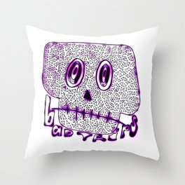 Bad Trips Throw Pillow