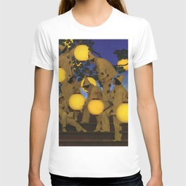 The Lantern Bearers by Maxfield Parrish T-shirt