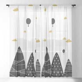 Cortinas Cuarto Juegos Sheer Curtain