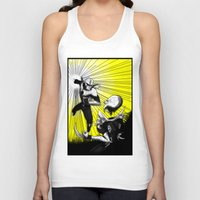 fight Tank Tops featuring Fight by TrueLoveStory