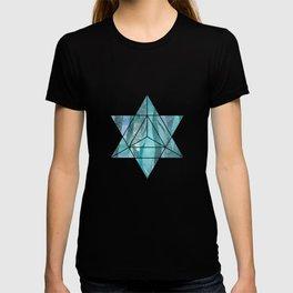Precious Aqua And Turquoise Glamour T-shirt