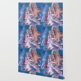 Turquoise Splash Wallpaper