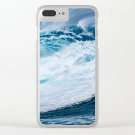 Wave Wave Clear iPhone Case