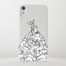 Meowtain iPhone Case