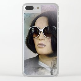 showcased -12- Clear iPhone Case