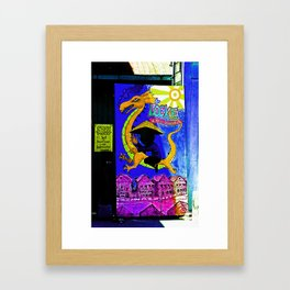 Locke A Historic Chinese Community Framed Art Print