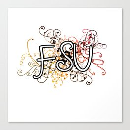 Florida State Canvas Print