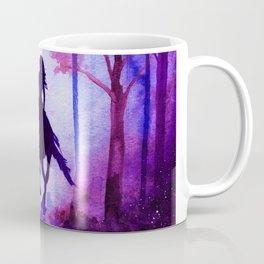 Horse and Rider Purple Edition Coffee Mug