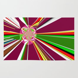 A burst of hope Rug