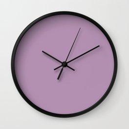 Lavender Herb Wall Clock