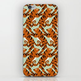 Tiger Conga pattern iPhone Skin