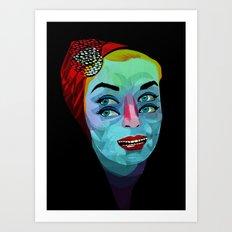 cuatrojos Art Print