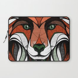 Fox // Colored Laptop Sleeve