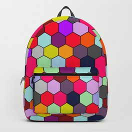 Sweet Honey Hexacomb Backpack