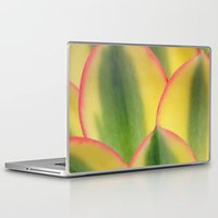 stained glass Laptop & iPad Skins featuring Stained Glass by Irina Wardas