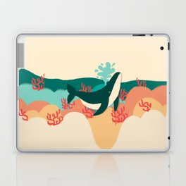 Whale Hello There Laptop & iPad Skin